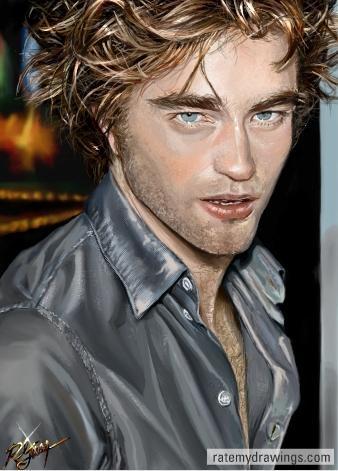 Robert Pattinson by Roxana1890